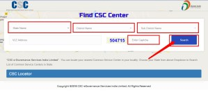 FIND MY CSC Centre