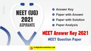 NEET Answer Key