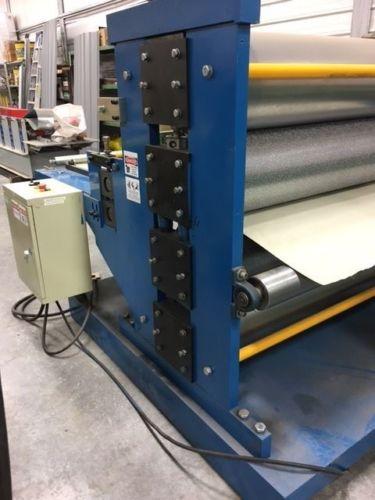 Sheet Metal Embossing Machine - CSC Machine