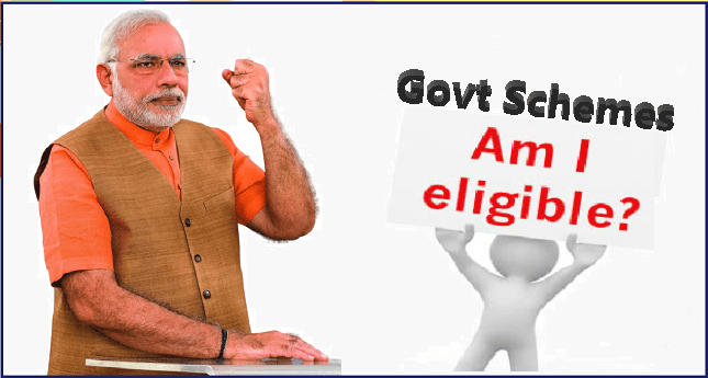 Check Your Eligibility for All govt schemes अपनी पात्रता की जाँच करें