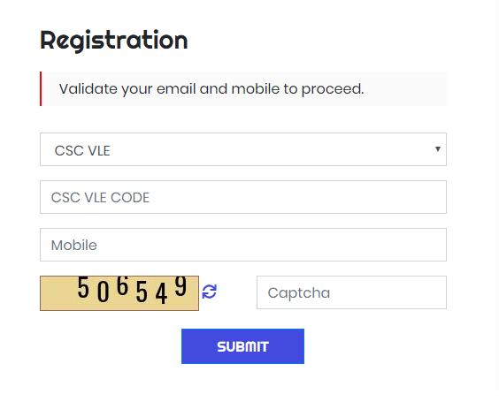 CSC Online Apply 2020 - CSC Digital seva Registration