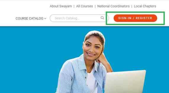 Swayam Portal registration