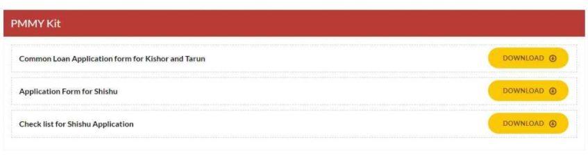 Mudra Loan Application Form PDF