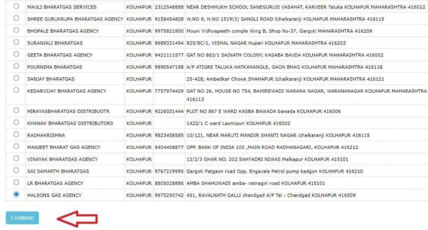 Bharat Gas Connection Online Registration