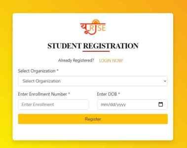 URISE Registration form
