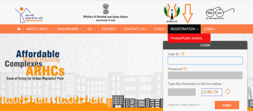 ARHC Scheme Registration