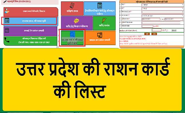 UP Ration Card New list 2021