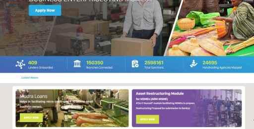 Apply Online for MUDRA Loan