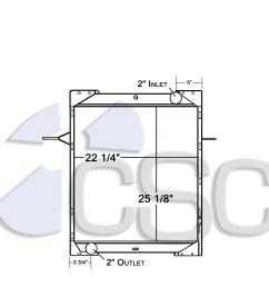 mack radiators [ 1267 x 1200 Pixel ]