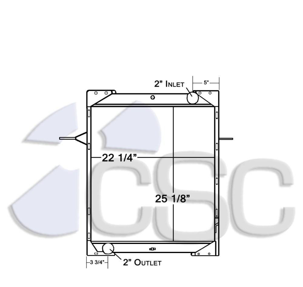 medium resolution of mack radiators
