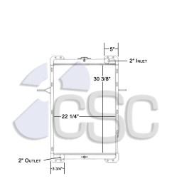 mack radiator 621ra004 [ 1155 x 1200 Pixel ]