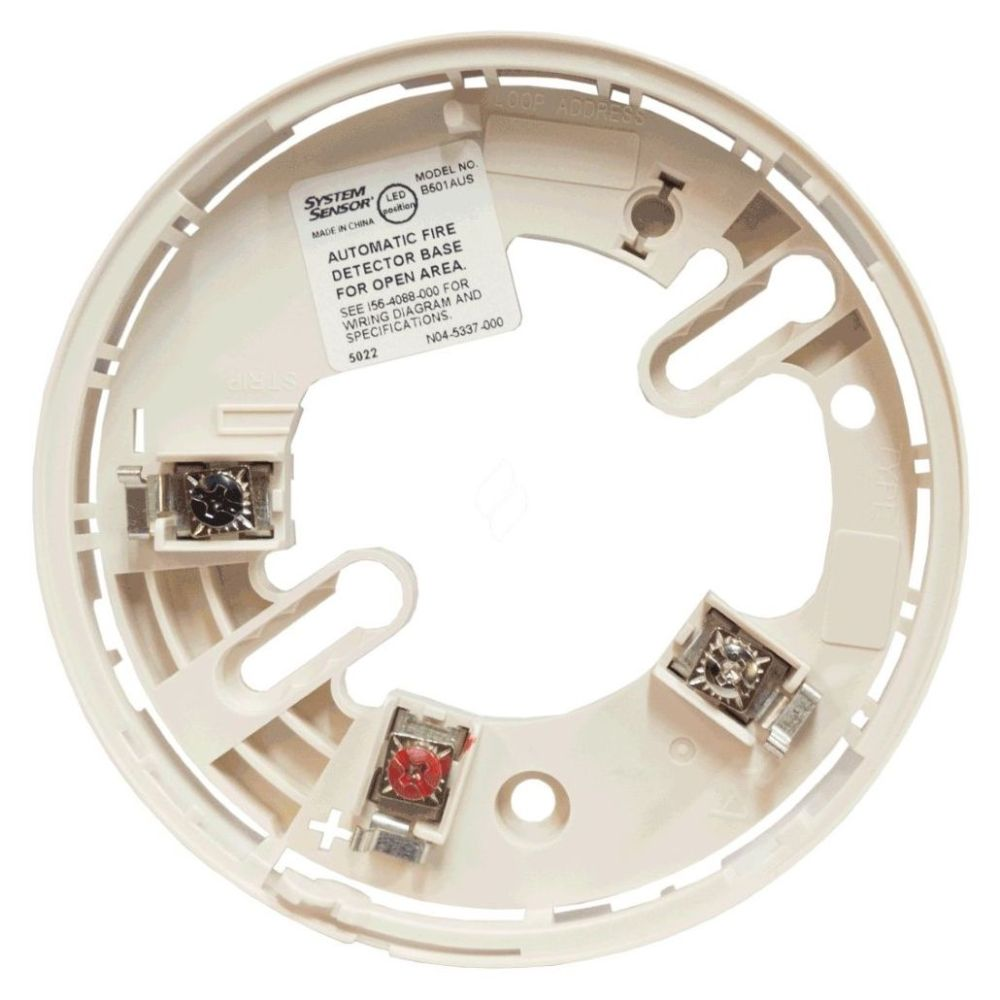 medium resolution of honeywell fire detector base to suit addressable detectors white