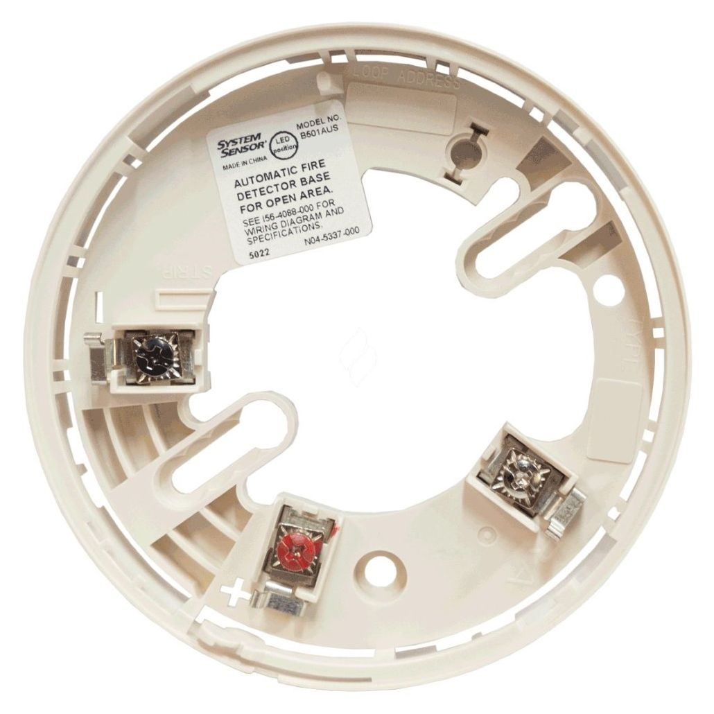 hight resolution of honeywell fire detector base to suit addressable detectors white
