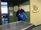 Grant collecting recycling