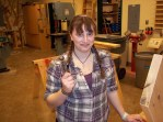 Building in the wood shop