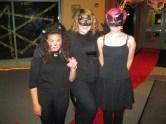A trio of ferocious felines made an appearance