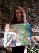 Linnea and her phenology map