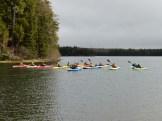 14-05-22 At start group on lake heading out - good shot 2