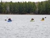 14-05-22 middle of lake four kayaks