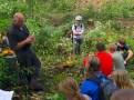 Ken teaching about forest regeneration