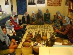 Tuareg Tea Ceremony in Art class