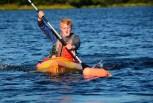 Elijah approaches a buoy