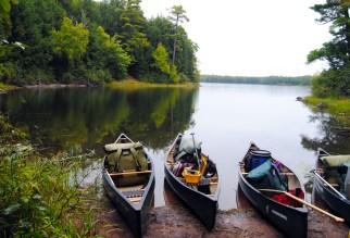 Ready to launch onto Big Bateau Lake