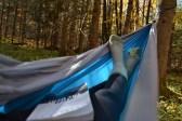 Chillin' in a hammock