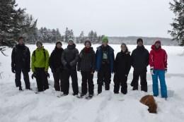 16-02-03 Sylvania Snowshoe 09 Loon Lake
