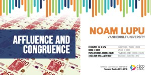 Séries de conférences: Noam Lupu @ Salle C-3061, Carefour des arts et des sciences, Pavillon Lionel-Groulx Université de Montréal | Montréal | Québec | Canada
