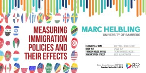 Séries de conférences: Marc Helbling @ Salle 404, Thomson House, Université McGill | Montreal | Quebec | Canada