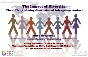 Poster Miles Hewstone December 13