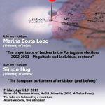 Talk Marina Costa Lobo and Simon Hug