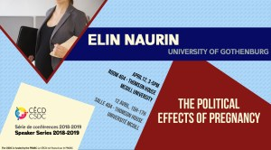 Speaker Series: Elin Naurin @ Room 404 - Thomson House | Montréal | Québec | Canada