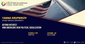 Speaker Series - Yanna Krupknikov @ Room TBD
