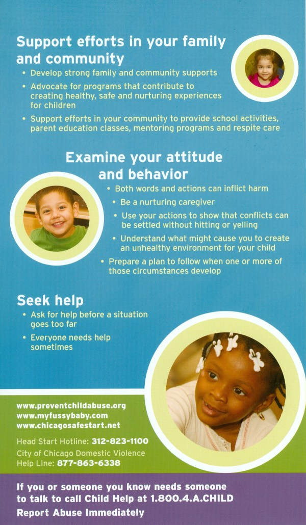 Children Abuse Prevention Posters