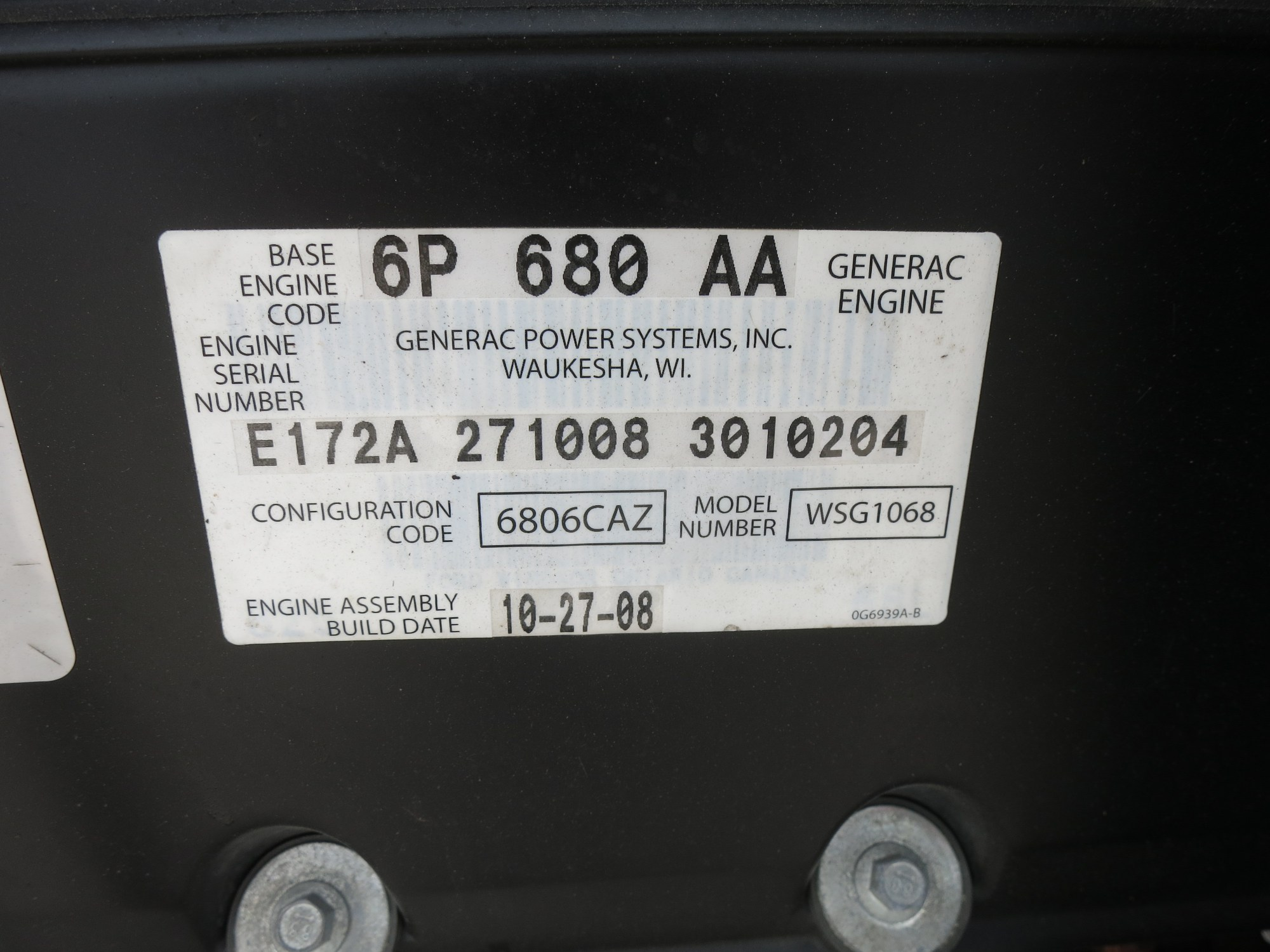 hight resolution of used generac qt150 natural gas generator 105 hrs 150 kw 0 price csdg