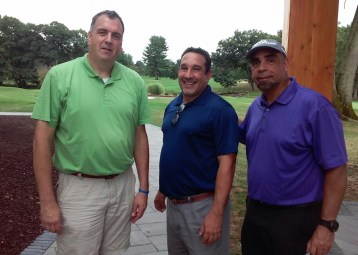 CSEA 9200 attends a charity golf event at the Otterkill Country Club in upstate, NY on September 19,2016. Pictured left to right are : (John Kelly, Alejandro Joga & David Addison.)