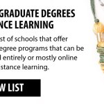 Graduate Degrees & Online Learning