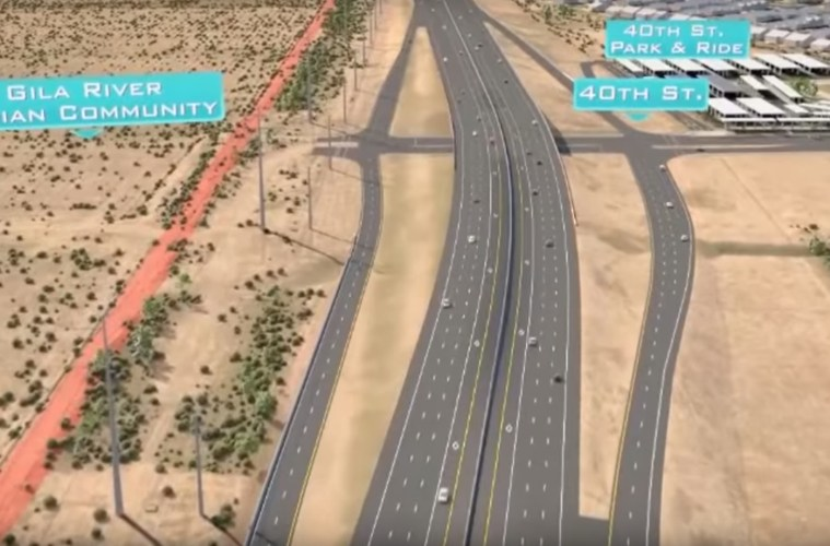At a cost of $1.8 billion, the 22-mile South Mountain Freeway will bypass the heart of Phoenix. It is the Arizona Department of Transportation's largest highway undertaking in history.