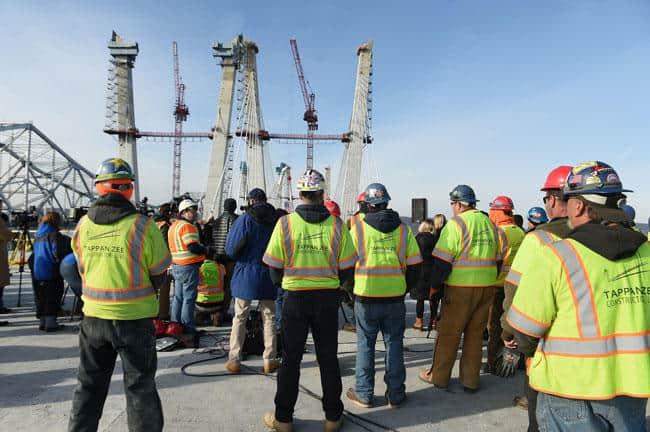 Fluor Led Team Completes Tappan Zee Bridge Towers Civil