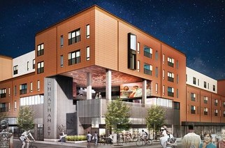modular student housing project progressing in san marcos texas