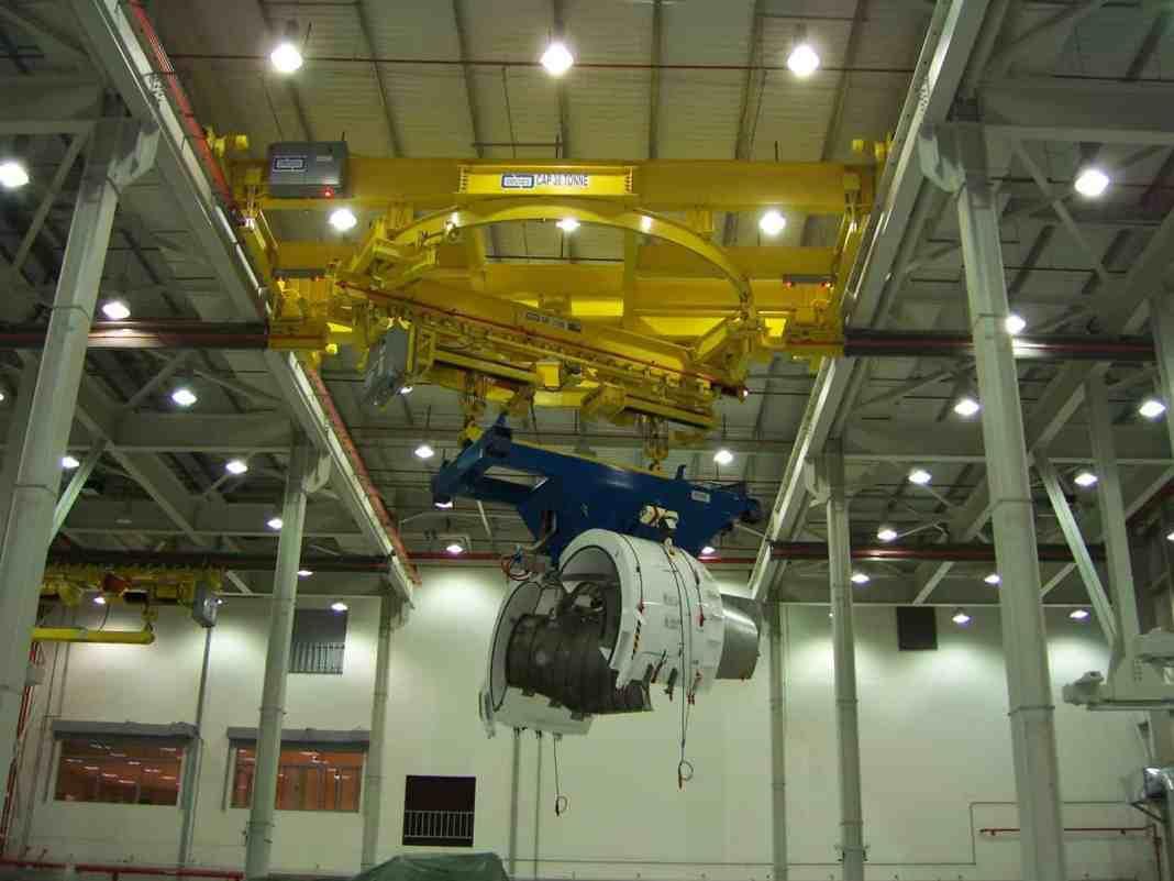 Acco Overhead Crane Solution for Aerospace Manufacturer | Civil +