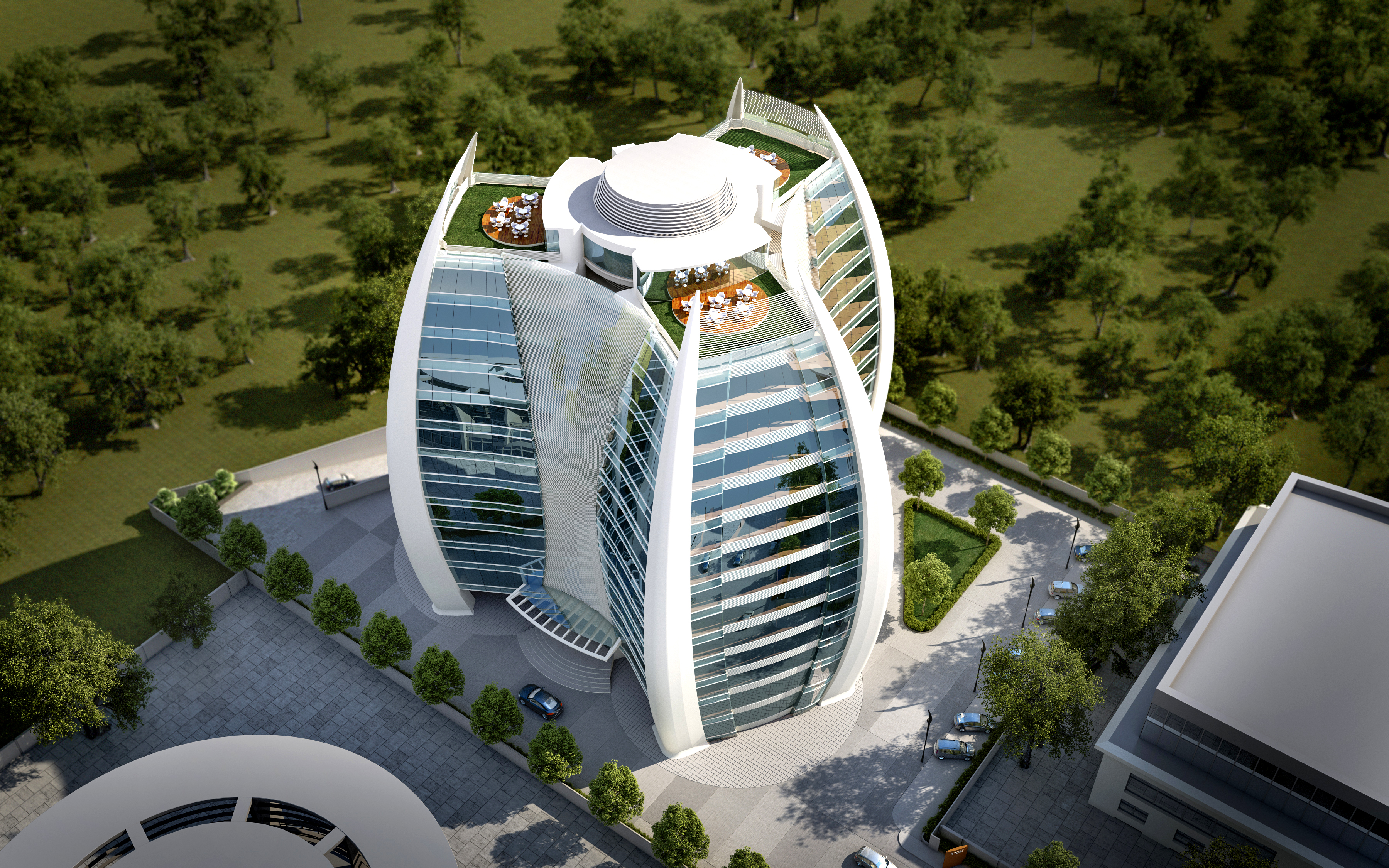 VYOM Designs Unique Office Building in Western India   Civil + Structural Engineer magazine