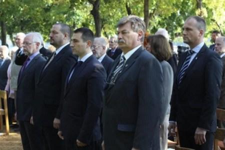 Méltó helyre került a dr. Rakovszky Ivánról elnevezett emlékhely a Margitszigeten