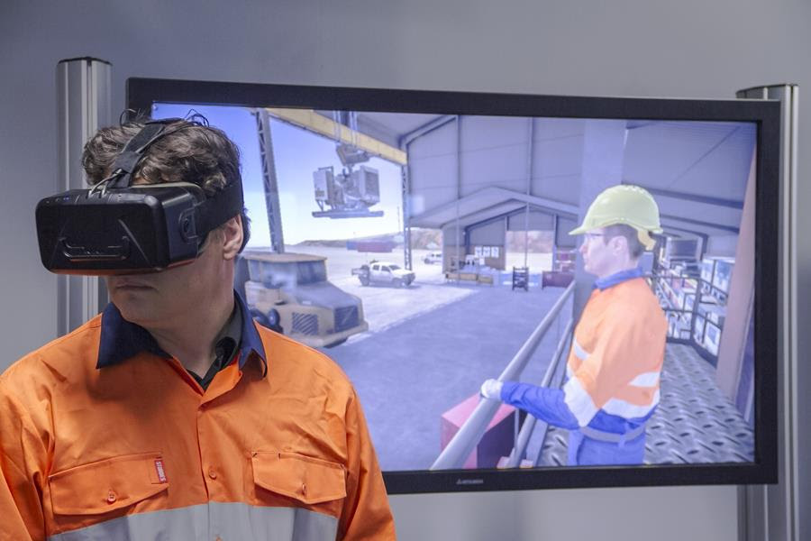 Simulators and Virtual Reality in Mining Related Training
