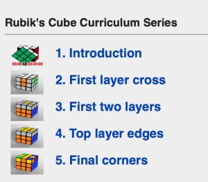 Rubik's Cube algorithmic lesson