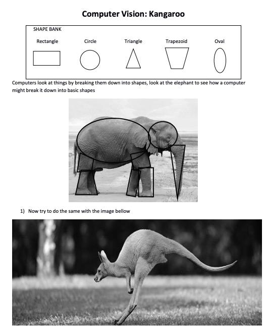 cs mines worksheet animal lines