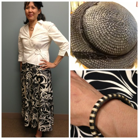 Day 13: Bias cut skirt and vintage hat