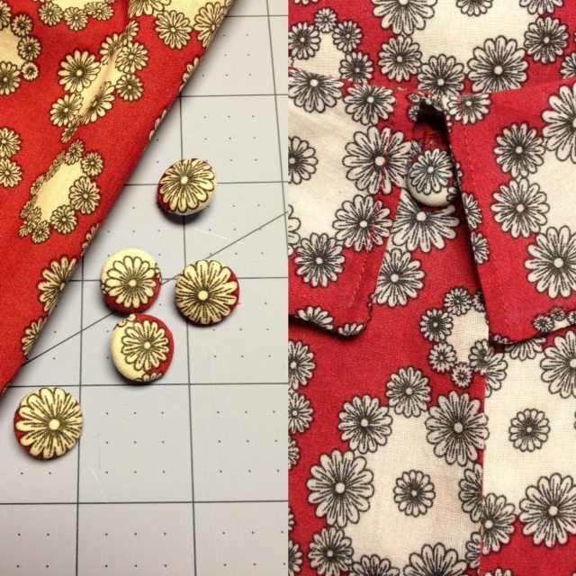 Tutorial: Centering Fabric on a Covered Button